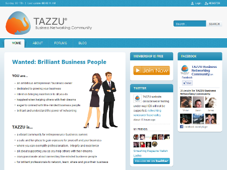 TAZZU Business Networking Community