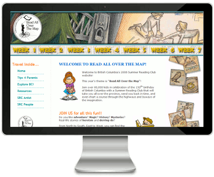 Kids SRC 2008 Website